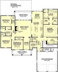 Craftsman Style Open Floor Plans Cottonwood House Plan Glass Shower Enclosures Craftsman Style