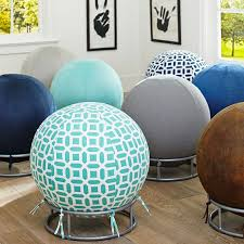 rockin roller desk chairs this could be easily diy ed using inflatable bouncy