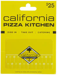 California Pizza Kitchen Coupon Code by Amazon Com California Pizza Kitchen Gift Card 25 Gift Cards