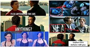 17 hilarious iron man and spider man memes that will make you laugh