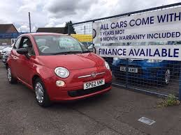 fiat 500 red 2012 for sale finance forth carz in stirling gumtree