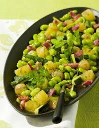comment cuisiner les feves surgel馥s fèves vertes façon risotto aux lardons maggi