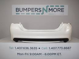 nissan altima limited 2016 oem 2016 nissan altima base s sl sv sr rear bumper cover used