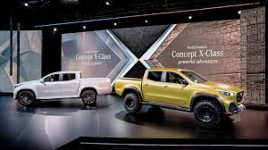 renault alaskan vs nissan navara mercedes benz x class pickup concepts revealed nissan navara
