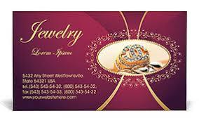 jewelry business card template u0026 design id 0000001362