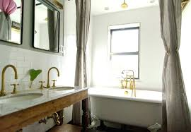 Bathroom Curtain Ideas For Shower Bathroom Shower Curtains Ideas Easywash Club