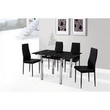 Black Glass Extending Dining Table Black Glass Extending Dining Table Enchanting Decoration Remix