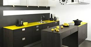 cuisine jaune et grise cuisine jaune et grise 14 cabines de salle de bain petit