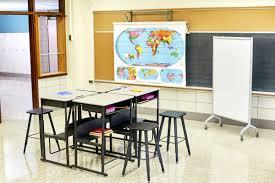 Open Front Student Desk by Alphabetter Desk