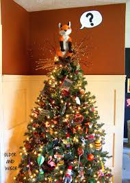and wisor what does the fox say a tree topper