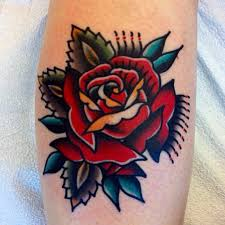 traditional rose tattoo design tattoo collections