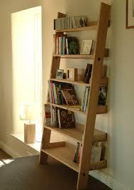 Boon Bookshelf Raw Oak Ladder Bookshelf Large