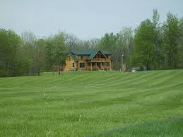 cabin houses houses beautiful log home cabin homes house green nature