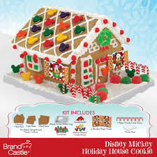 disney mickey mouse u0026 friends holiday gingerbread house kit