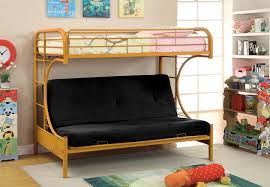 Futon Bunk Bed Woodworking Plans by Bedroom Enchanting Bedroom Design With Oak Wood Twin Over Futon