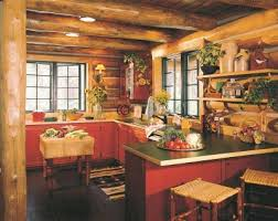 Log Cabin Kitchen Cabinets by Cabin Decor Ideas Cabin Kitchens And Logs