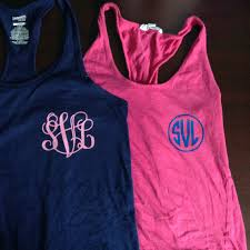 iron on monogram or greek letters for shirts or tank tops 3
