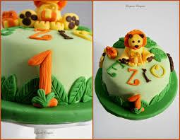 gateau anniversaire animaux jungle cake croquez craquez