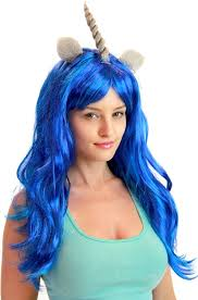 my pony costume my pony costume wigs blue electric blue brown