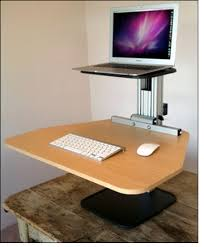 Convert Normal Desk To Standing Desk Convert To Standing Desk With Regard To Incredible Home Stand Up