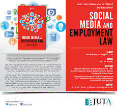 invitation to social media u0026 employment law launch