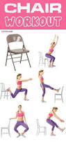 Pilates Chair Exercises Workout Wednesday The Chair Workout U2013 Milk And Eggs