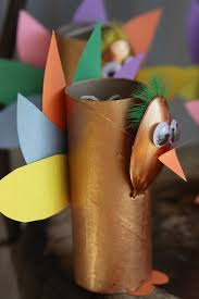 toilet paper roll turkey craft for a spotted pony