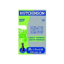 chambre a air vtt 26 a air vtt hutchinson 26 x 1 7 2 35 valve presta ou standard shrader