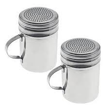Stainless Steel Kitchen Canister Set Amazon Com Dozenegg Stainless Steel Versatile Dredge Shaker Set