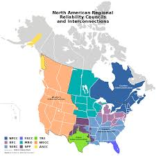 North America Time Zone Map by North American Electric Reliability Corporation Wikipedia