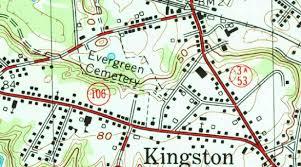 Plymouth Massachusetts Map by Usgenweb Kingston Ma Cemeteries