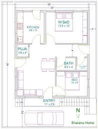 floor plan for 30x40 site 30x40 south facing house plans as per vastu house plans