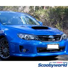 blue subaru hatchback scoobyworld zunsport upper u0026 lower mesh grilles 2008 hatchback