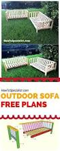 Diy Outdoor Lounge Furniture Best 25 Outdoor Sofa Cushions Ideas On Pinterest Outdoor