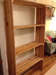 pretty wood shelving units creating a home simple arafen