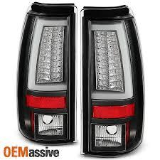 2000 chevy silverado tail light assembly 2003 2006 chevy silverado gmc sierra 1500 2500hd 3500 black led tube