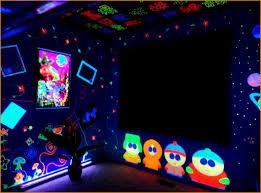 blacklight bedroom black light bedroom decor wedding decor