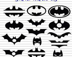 batman silhouette etsy