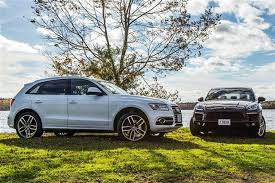 audi sq5 2015 comparison test 2015 porsche macan s vs 2014 audi sq5 autos ca