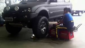lifted mitsubishi endeavor balanceamento pajero sport youtube