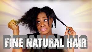 how to detangle 4b fine natural hair youtube