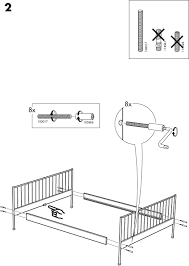 How To Assemble A Bed Frame Ikea Leirvik Bed Frame Assembly My Delicate Dots Portofolio