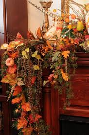 fall mantel decorating ideas with fireplace