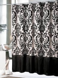 Black And White Curtain Designs Bathroom Curtains Black And White 2016 Bathroom Ideas Designs