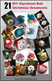 21 diy styrofoam ornaments the bright ideas