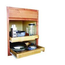 Roll Out Shelves Kitchen Cabinets Bamboo Expandable Kitchen Cabinet Pull Out Shelf Walmart Com