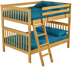 Double Bunk Beds The Natural Cedar Log Furniture Comes With Great - Double double bunk bed
