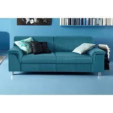 canap bleu p trole canapé 3 places toile inosign bleu pétrole inosign mobilier