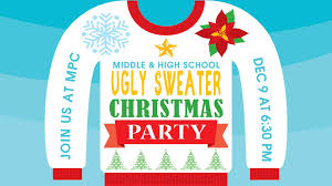 meridian point churchyouth ugly sweater christmas party meridian
