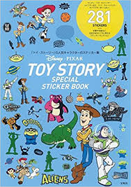 disney pixar toystory special sticker book バラエティ